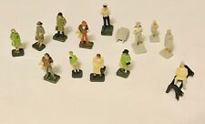 More details for 13pc model railway train people sitting standing figures gauge passengers layout
