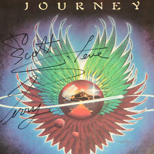 Journey Signed Album Steve Perry Autographed Record Evolution (Schon Cain Smith)