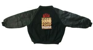 Vintage St. Ides Gold Holyfield - Tyson II The Sound & The Fury Jacket Black XXL