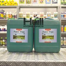 Canna Aqua Vega A+B 10 Litre Veg Plant Food Base Nutrients Hydroponics