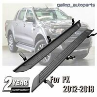 Side Steps Running Boards Fit For Ford Ranger PX MKII 2012-2018 Matte