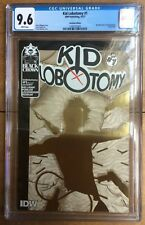 Kid Lobotomy #1 Recalled Gold Foil Edition Frank Quitely Cover CGC 9.6