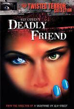 Wes Craven DEADLY FRIEND rare Horror dvd KRISTY SWANSON 1986