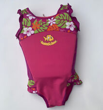Swim School - Swim Trainer Float Suit 33-55 Lbs Girls Pink Life Jacket Cute