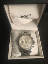 Mens Mont Blanc watch Meisterstuck Chronograph automatic