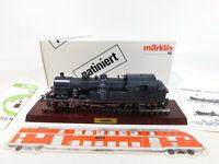 CL770-1 # Märklin H0 / AC 3117 Locomotive-Tender 232 TC 423 SNCF Patiné,Mint +