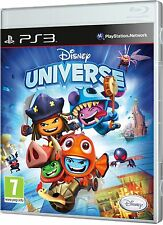 Disney Universe [PlayStation 3 PS3, Region Free, Kids Action Adventure Game] NEW