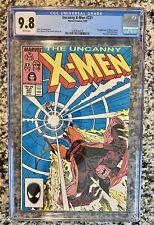 Uncanny X-Men #221 CGC 9.8 White Pages 1st App of Mister Sinister
