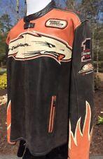 Harley Davidson Screaming Eagle Victory Lap Leather Jacket Men's 2XL Racing