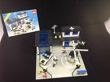 Lego 6384 Police Station from 1983-100% Complete Free Shipping