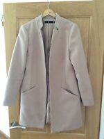 Misguided Blush Coat Size 8