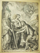 Clovis la France chrétienne poème héroï PITAU Lebrun 1657 destruction des idoles