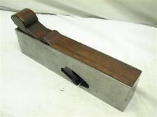 "Antique 1-1/2"" Rabbet Rosewood Infill Plane Wood Tool H.C. Hunt Addis Iron"