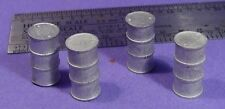 S SCALE Sn3 1/64 WISEMAN MODEL SERVICES DETAIL PARTS: S353 TALL METAL DRUMS
