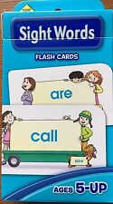 Early Learning Sight Words Flash Cards Ages 5-up