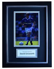 David Unsworth Signed A4 Framed Autograph Photo Mount Display Everton COA