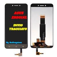 P1 DISPLAY LCD+TOUCH SCREEN per ASUS ZENFONE LIVE ZB501KL X00FD NERO VETRO NUOVO