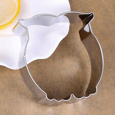 Stainless Steel Owl Cookie Cutter Mini Kitchen Cooking Cutting DIY Dies Mold