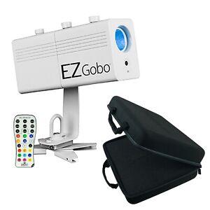 Chauvet DJ EZ Gobo Battery LED Logo Image Projector + Case EZGOBO