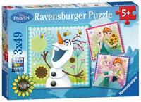 Ravensburger 09245 Disneys Frozen Fever 3 x 49 Piece Childrens Jigsaw Puzzle New