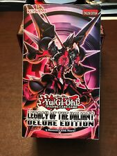 Konami Yu-Gi-Oh Legacy of the Valiant Deluxe Edition Box Booster Pack Limited Ed