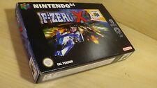 F-Zero X-complet/neuf dans sa boîte Nintendo 64 n64