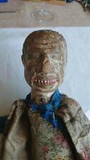 ANCIEN MARIONNETTE PANTIN BOIS Poupée vintage wood toy doll puppe puppet Italie
