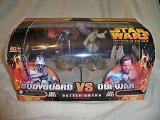STAR WARS Grievous Bodyguard vs. Obi-Wan Kenobi (Battle Arena) NIB
