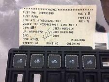 (5 PIECE LOT) ATMEGA128L-8AI, ATMEL, IC MCU 8BIT 128KB FLASH 64TQFP
