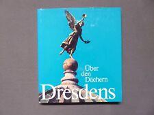Buch, Bildband, Über den Dächern Dresdens, Helzel / Rehbein, DDR 1981