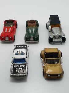 Majorette Vintage Chevrolet, Excalibur, Morgan, Crazy Car 1980s Made In France