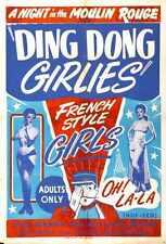 Ding Dong Girlies Poster 01 Metal Sign A4 12x8 Aluminium