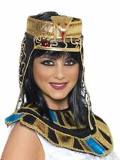 Smiffys Egyptian Headpiece, Gold, with Snake Design - Female