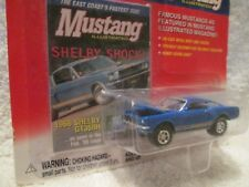 JOHNNY LIGHTNING 1966 ford mustang shelby GT 350 H  mustang illustrated magazine