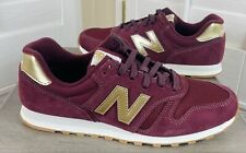 New listing New Balance Women's 373 Lifestyle/Running Shoes Burgundy/Gold, WL373FA2, Size 9