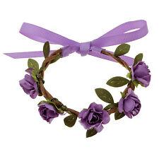 Fashion Bowknot Braided Branch Charm Flower Bracelet For Women Wedding Jewelry