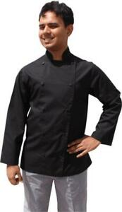 EPIC Traditional Black Long Sleeve Chef Jacket