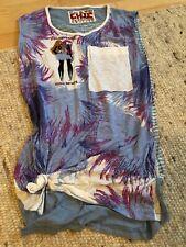 CUSTO Barcelona Top Oberteil Shirt Gr FREE TOP Zustand bunt original schick