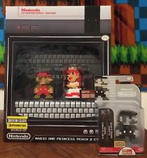 EXCLUSIVE SDCC Super Mario and Princess Peach 8-Bit 2-Pack AND Classic Mario!