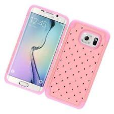 Carcasas Para Samsung Galaxy S7 edge color principal rosa para teléfonos móviles y PDAs