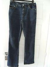 DG2 Diane Gilman bleu jeans stretch Taille 12 Regular