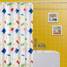 Tenda per doccia in polietilene 180 x 200 cm motivo multicolor arredo bagno