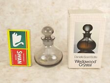 Wedgwood Crystal Danielle Perfume Scent Bottle By Frank Thrower Midnight FJT69