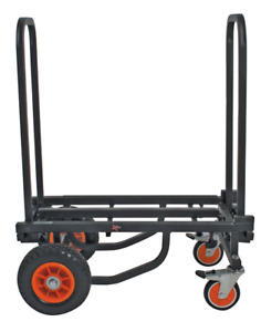 XTreme TRY200 Extra Heavy Duty Adjustable Length Steel Equipment Trolley
