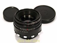 Russian rare Helios-44 Zebra lens 2/58 mm for old SLR Zenit M39 .№8069380.Exc
