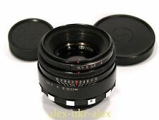 Russian rare Helios-44 Zebra lens 2/58 mm for old SLR Zenit M39 .№8069380.Exc