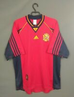Spain Jersey 1998 1999 Home LARGE Shirt Football Soccer Adidas ig93