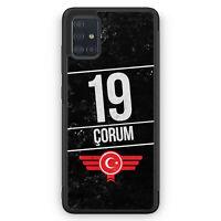 Corum 19 Silikon Hülle für Samsung Galaxy A51 Motiv Design Türkei Türkiye Tür...