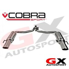 ME12 CobraSport Mercedes C200 Diesel 07-13 C350 Style Dual Rear Back Box Exhaust