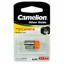 6 V Silver Oxide SR44 Single Use Batteries